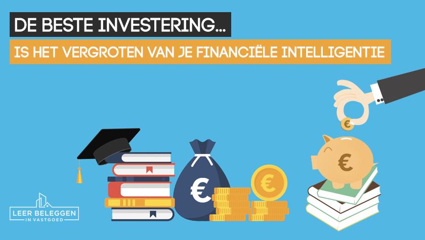 De beste investering is financiële intelligentie