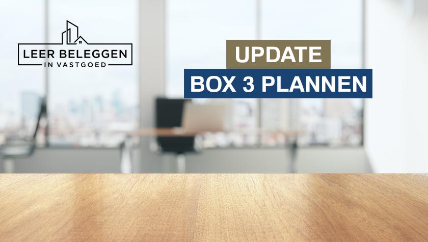 Kabinet werkt aan ander voorstel box 3